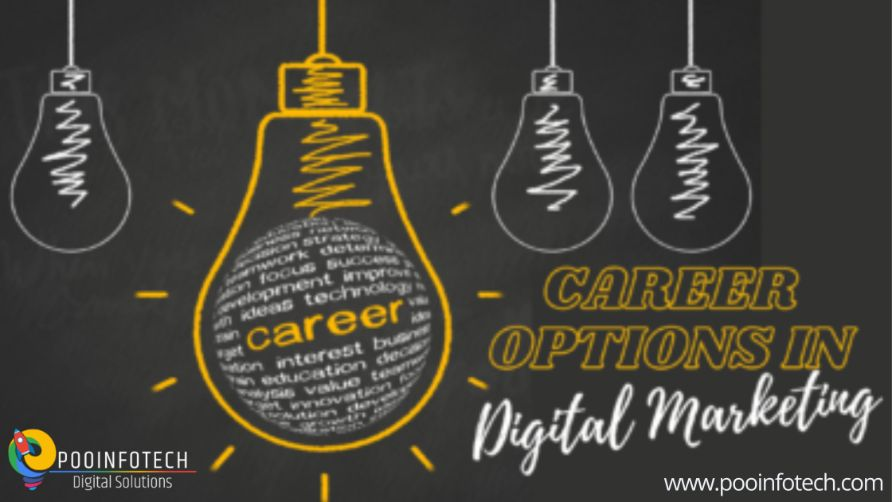 Career options in Digital Marketing.