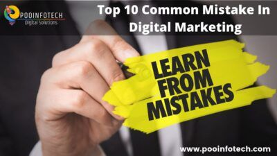 Top 10 common mistakes in digital marketing