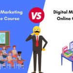 online vs offline digital marketing courses