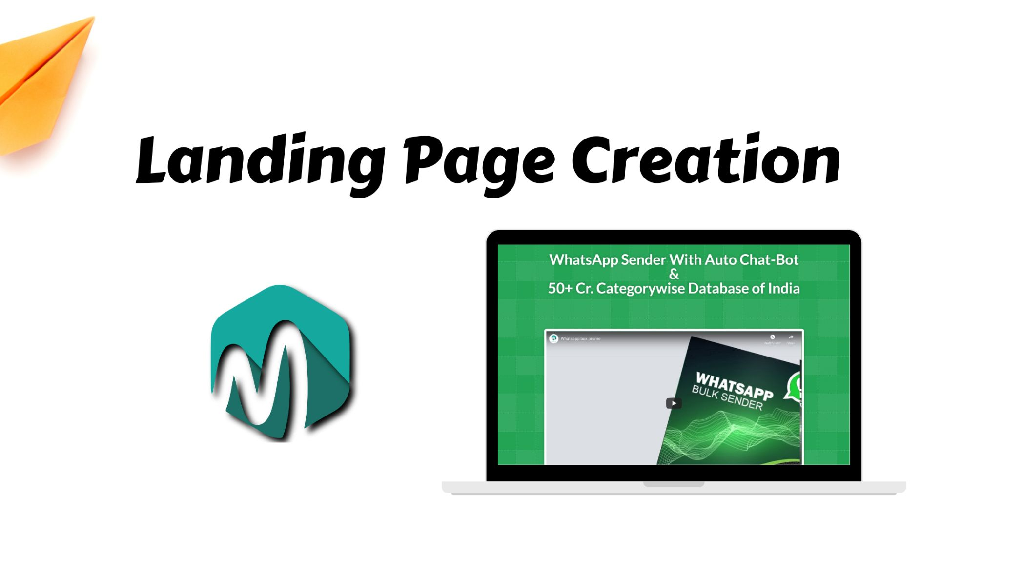 Landing Page Creation for Marketing Software 1